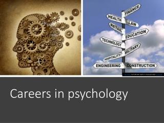 career focus: forensic psychology