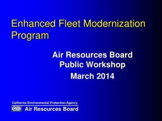 Enhanced Fleet Modernization Program