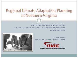 Regional Climate Adaptation Planning in Northern Virginia