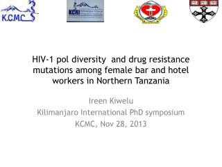 HIV-1 pol diversity  and drug resistance mutations among female bar and hotel workers in Northern Tanzania