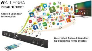 Android Soundbar Introduction