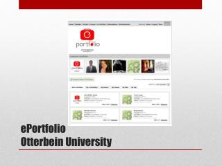 ePortfolio Otterbein University