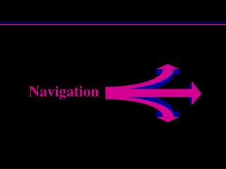 Navigation What should I know