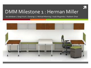 DMM Milestone 1 : Herman Miller
