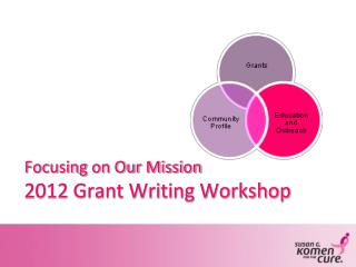 Focusing on Our Mission 2012 Grant Writing Workshop
