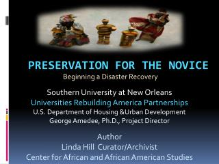 Preservation for the Novice