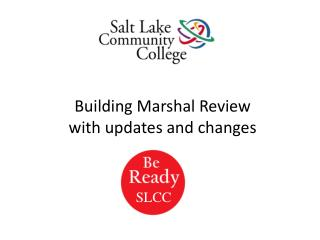 Building Marshal Review with updates and changes