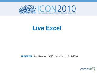 Live Excel