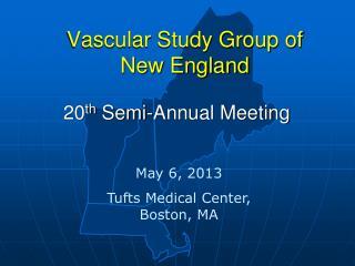Vascular Study Group of         New England