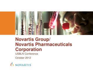 Novartis Group/ Novartis Pharmaceuticals Corporation