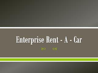 Enterprise Rent - A - Car