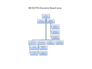 MCES PTA Executive Board 2009