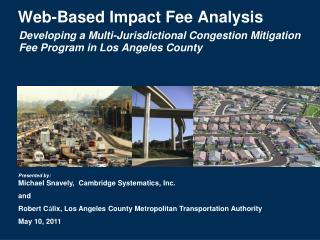 Web-Based Impact Fee Analysis