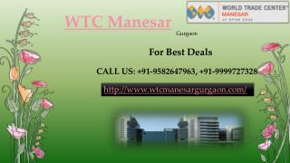 World Trade Center Manesar