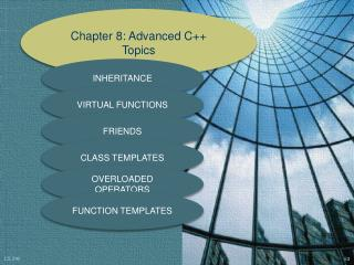 Chapter 8: Advanced C++ Topics