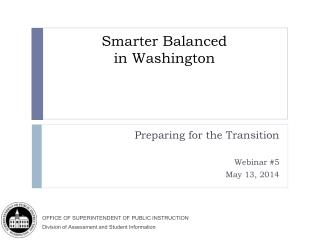 Smarter Balanced  in Washington