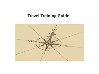 Travel Training Guide