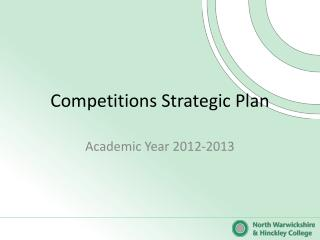 Competitions Strategic Plan