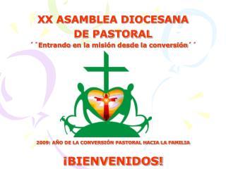 xx asamblea diocesana  de pastoral   entrando en la misi n desde la conversi n             2009: a o de la conversi n pa