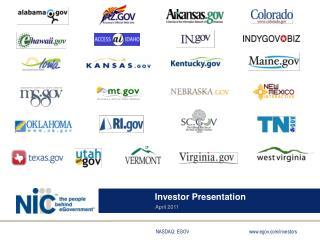 Investor Presentation April 2011
