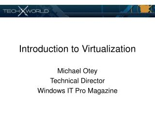 Introduction to Virtualization 0.91 MB