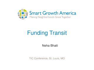 Funding Transit