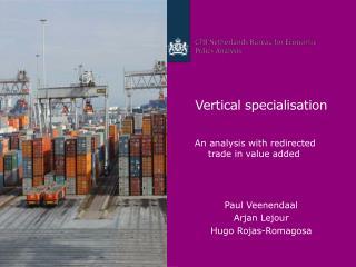 Vertical specialisation