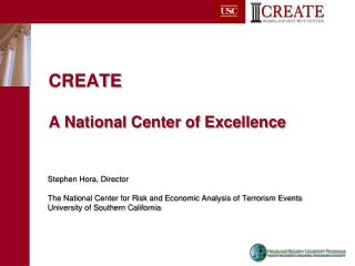 CREATE  A National Center of Excellence