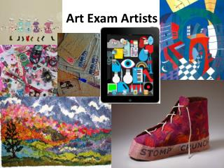 Art Exam Artists