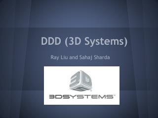 DDD (3D Systems)