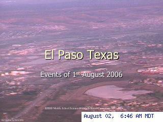 El Paso Texas