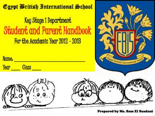 Key Stage 1 Department Student and Parent Handbook