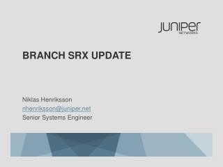 Branch  srx  update