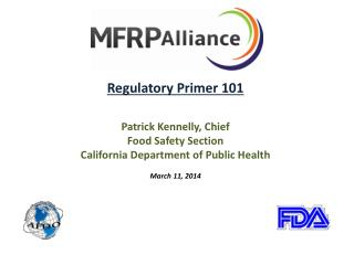 Regulatory Primer 101