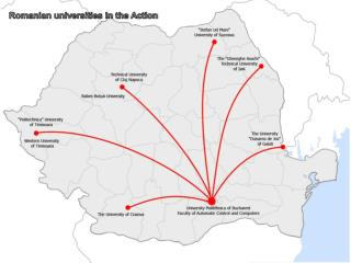 Romanian universities in the Action