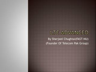 LTE Advanced
