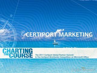 Certiport Marketing
