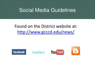 Found on the District website at:  http://www.gcccd.edu/news/