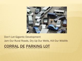 corral de parking lot
