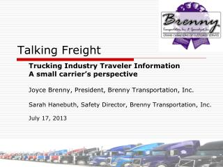 Talking Freight