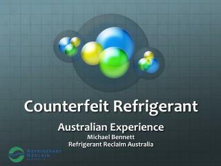 Counterfeit Refrigerant