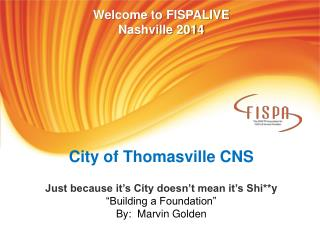City of Thomasville CNS