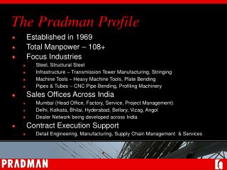 The Pradman Profile