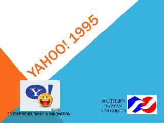 YAHOO! 1995