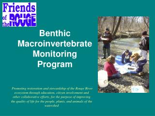 Benthic Macroinvertebrate Monitoring Program