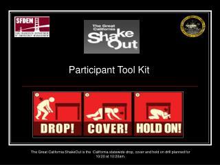 Participant Tool Kit