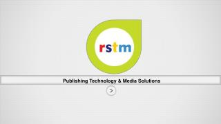 Publishing Technology & Media Solutions