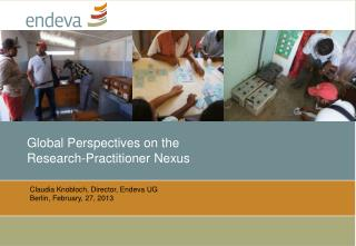 Global Perspectives on the  Research-Practitioner Nexus