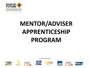 Mentor/Adviser Apprenticeship Program
