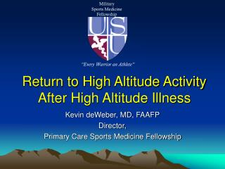 return to high altitude activity  after high altitude illness